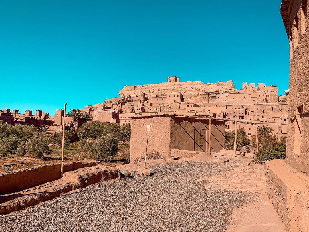 Ait Benhaddou, one of the best sites that you will visit with our 7 days desert tour from Marrakech to Fes