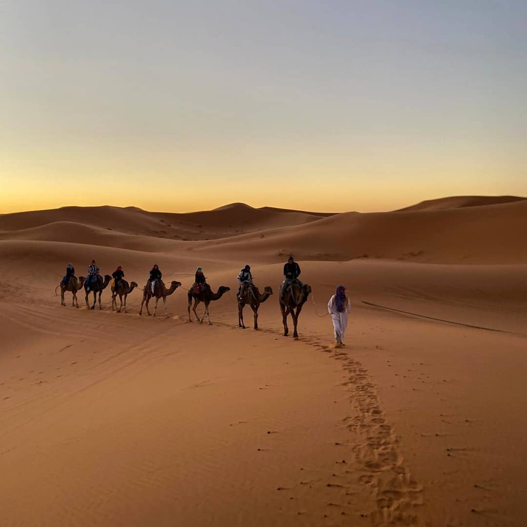 3 days tour in Morocco from Fes to Merzouga desert featured image including camel trekking