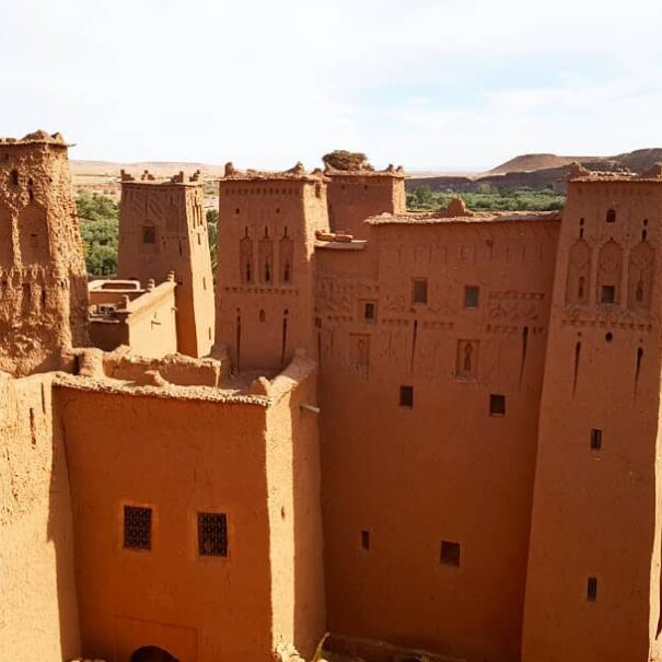 AIt Benhaddou is s site that you will explore with our 4 days desert tour from Fes to Marrakech