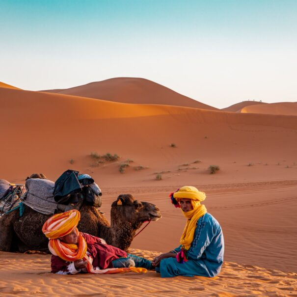 Featured image of the 4 days desert tour from Marrakech to Merzouga desert